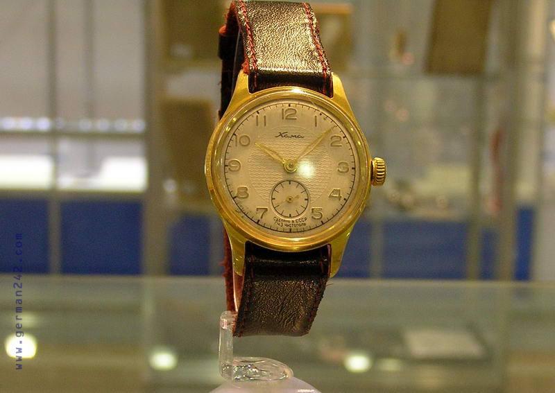 фото золотых наручных часов