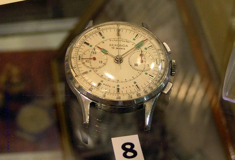 75. Победа - часы наручные, на циферблате рубиновые камни, металл, 1МЧЗ, 1960 г. 76