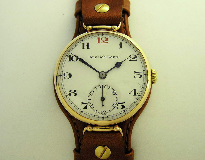 часы: командирские наручные часы