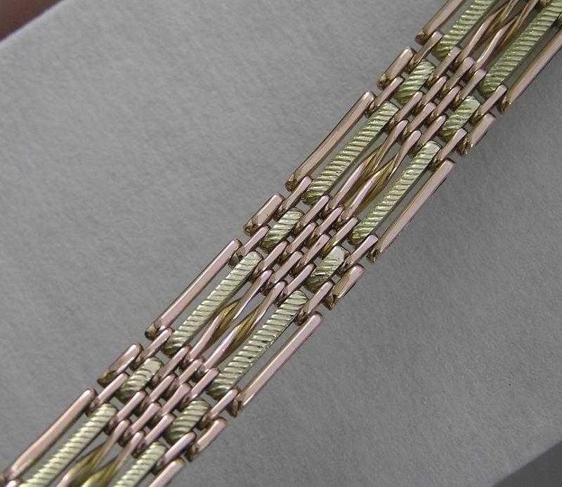 Изготовление золотых браслетов